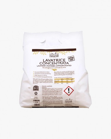 Polvere Lavatrice Ecologica e Biosostenibile per bucato